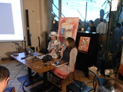 イベント報告「上海で映像制作にたずさわる松田奈月さん」